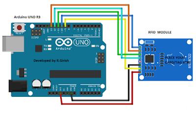 Make this RFID Circuit using Arduino