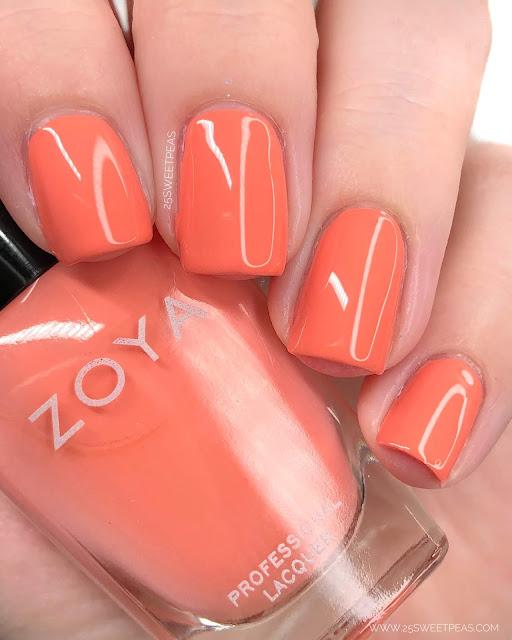 Zoya Emma Splash Collection 25 Sweetpeas