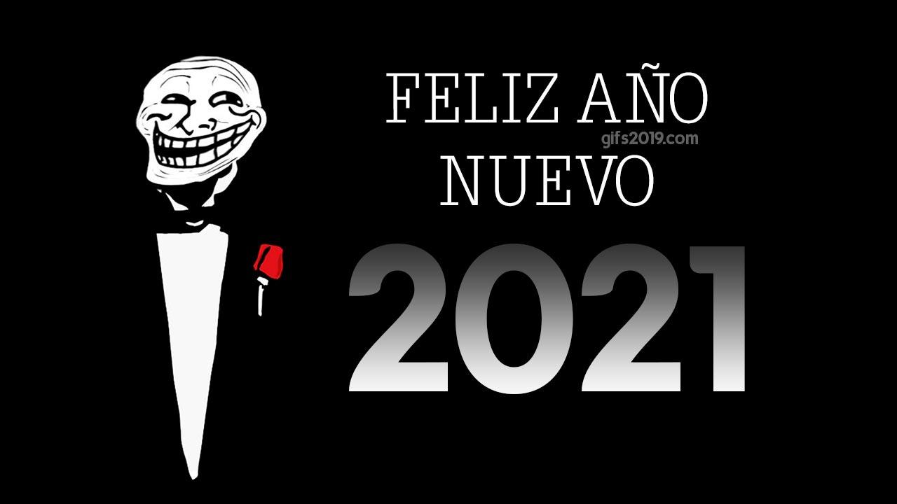 feliz año nuevo 2021 fondo
