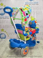 Sepeda Roda Tiga Royal RY9782CJ Baby JacQ Blue