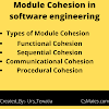 types of cohesion in software engineering | Csmates.com