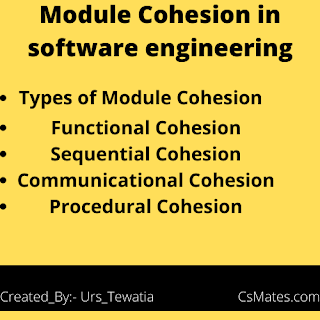 types of cohesion in software engineering