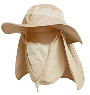 Fishing cap sun protection