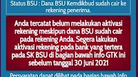 SEGERA Cek di Akun info.gtk.kemdikbud, Ada yang Berubah Soal Bantuan Subsidi Upah (BSU) Guru Honorer
