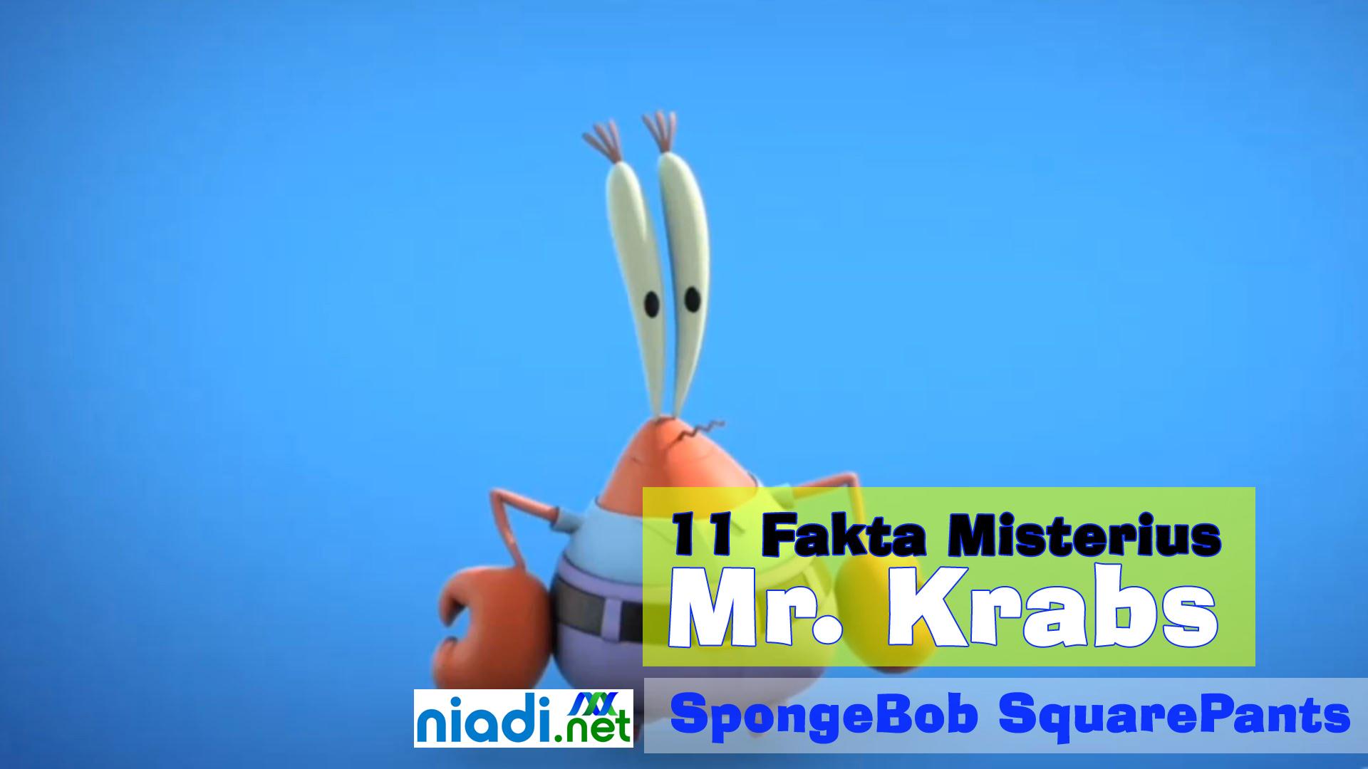 Mengungkap 11 Fakta Misterius tentang Mr. Krabs, Sang Kepiting Beranak Paus!