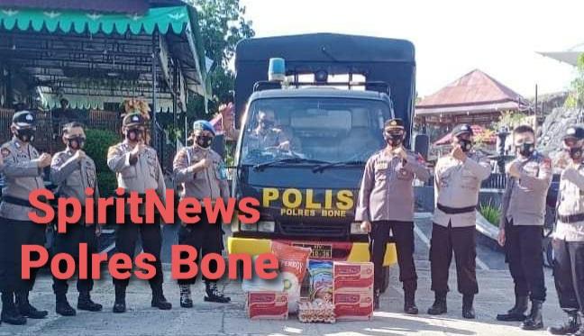Kapolres Bone Apresiasi Giat Personilnya di Medan Tugas