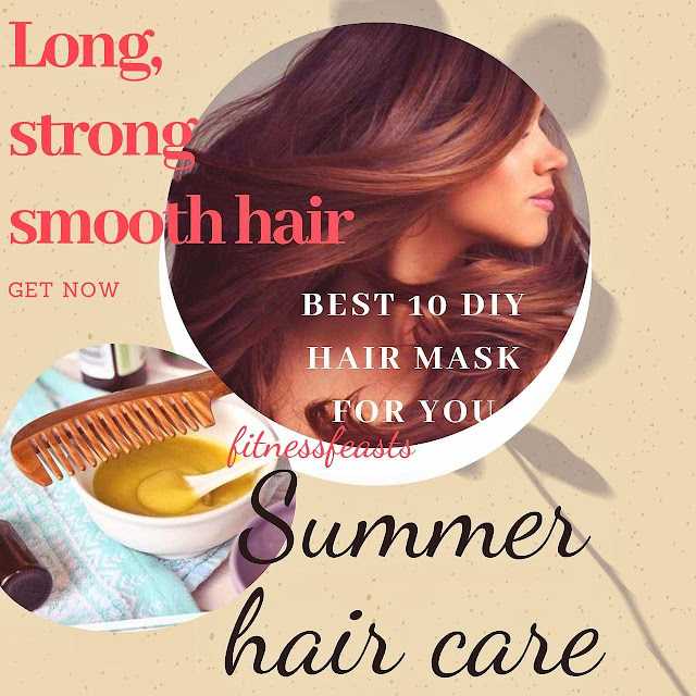 10 best DIY hair mask recipes at home | Easy hair masks for dry and damaged hairs