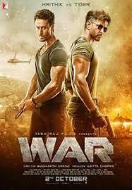 Free Download Hindi Bollywood movie War 2019 Ritik Rohan