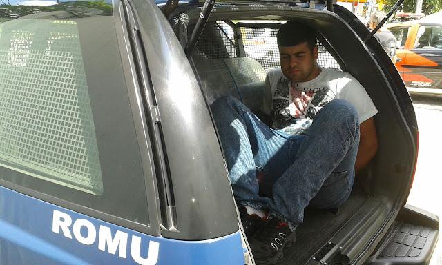 GCM de Santo André equipe de ROMO, ROMU e GARRA detém homem que comercializava placas ilegais de veículos