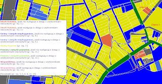 Zgierski Powiat mapa działek geodezyjnych