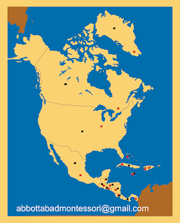 Four Map Of North America