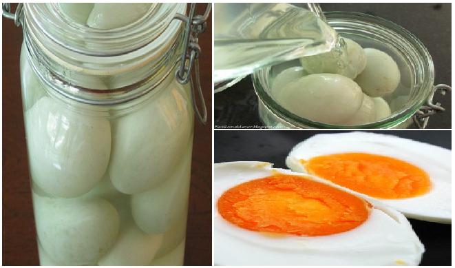 Cara Paling Praktis Membuat Telur Asin Kaya Gizi Hanya