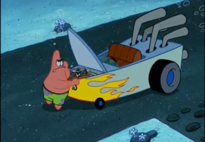 Animated Critic Blog : Driven to Tears (Spongebob)-Animated