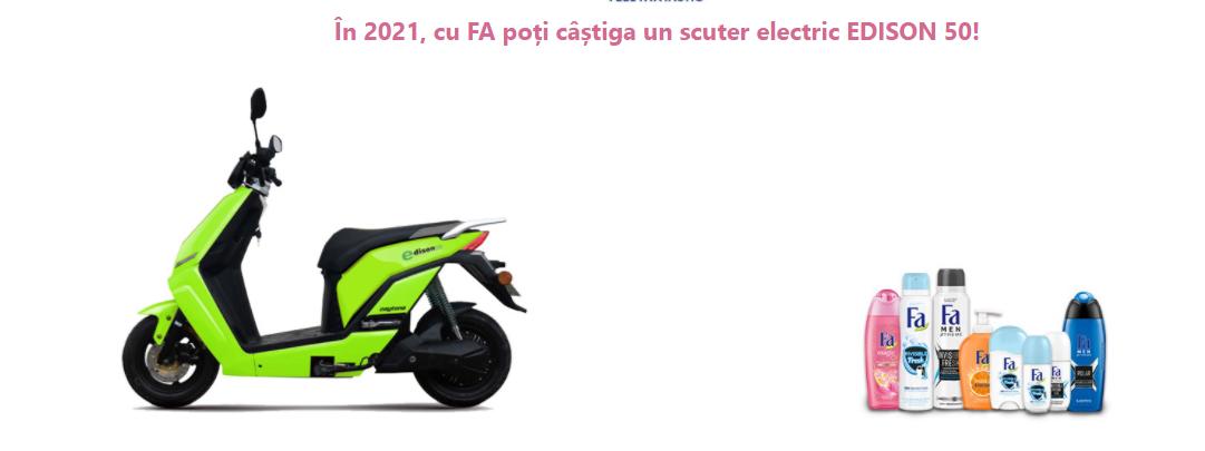 Concurs Fa - Castiga un scuter electric Daytona Edison 50 - concursuri - online - 2021