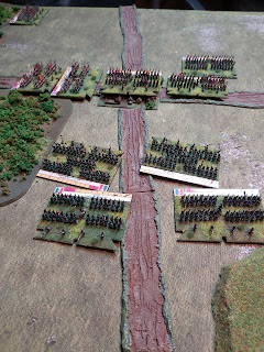 The French infantry are sent packing!