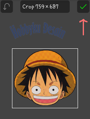 Confirm gambar kepala anime