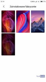 Xiaomi Fabryczne Tapety