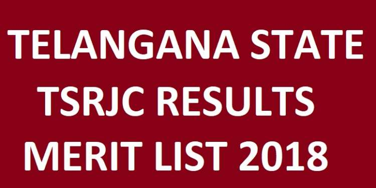 Telangana TSRJC Results Rank Card