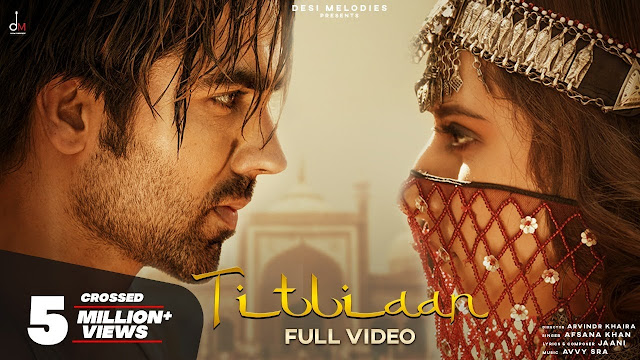 Titliaan Song Lyrics  :  Titliaan Is A Punjabi Song Which Is Sunged By Afsana Khan. Titliaan Song Lyrics Are Written By Jaani And Music Of This Song Is Produced By Avvy Sra. The Music Video Of This Song Is Directed By Arvindr Khaira.