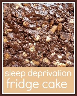 Simple fridge cake recipe
