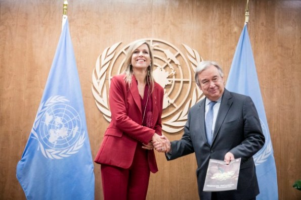 Round-up of the royals at the United Nations, Queen Maxima