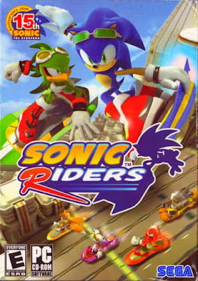 Capa do Sonic Riders