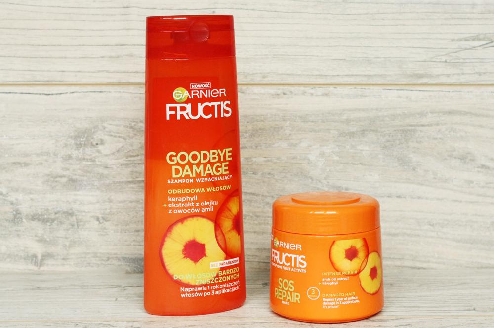 Garnier Fructis Goodbye Damage Szampon i maska do włosów