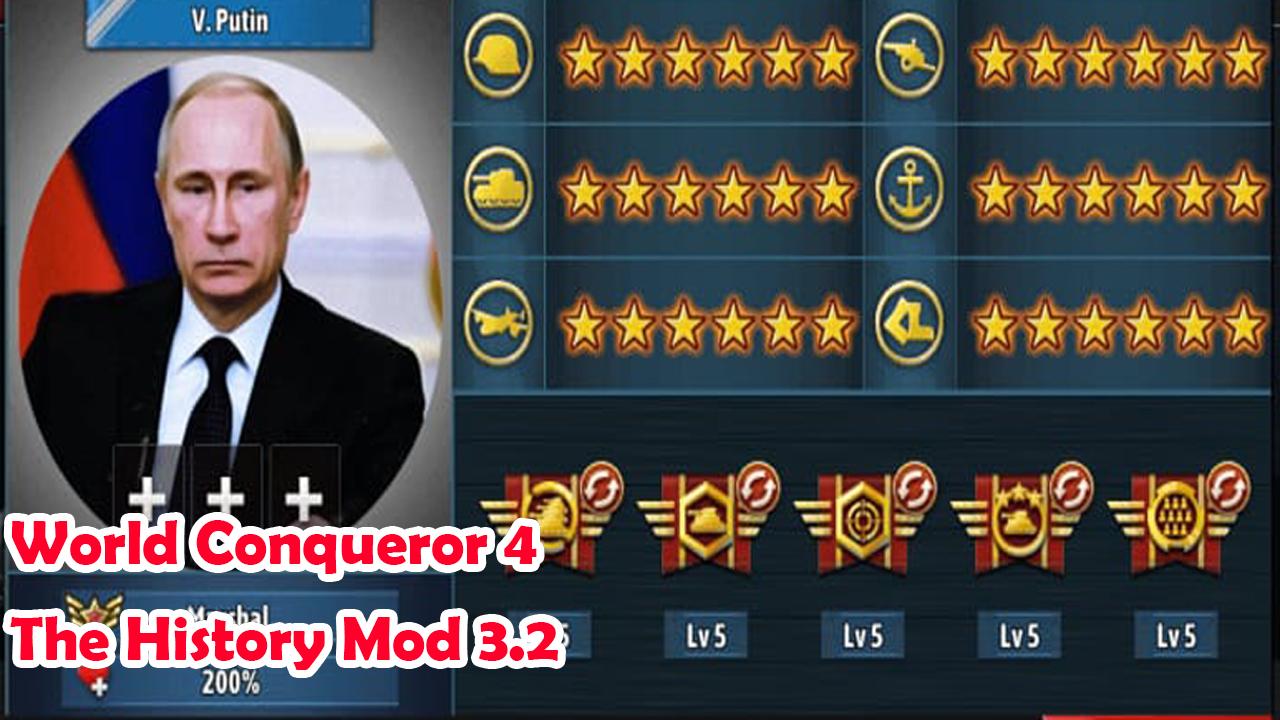 world conqueor 4 mod apk