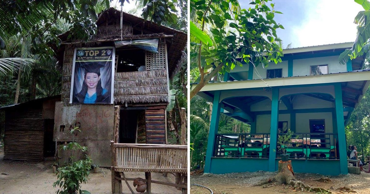 Daughter of fisherman who ranked 2nd in LET shares photos of new house