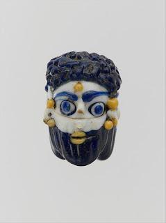 Phoenician Glass Mask Amulet