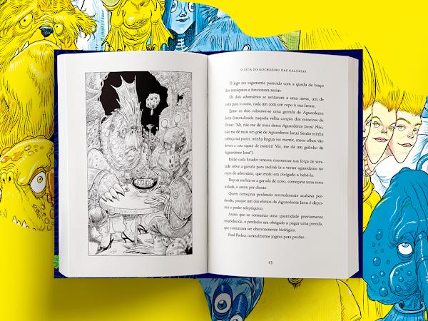 Arqueiro lança nova edição ilustrada de O Guia do Mochileiro das Galáxias
