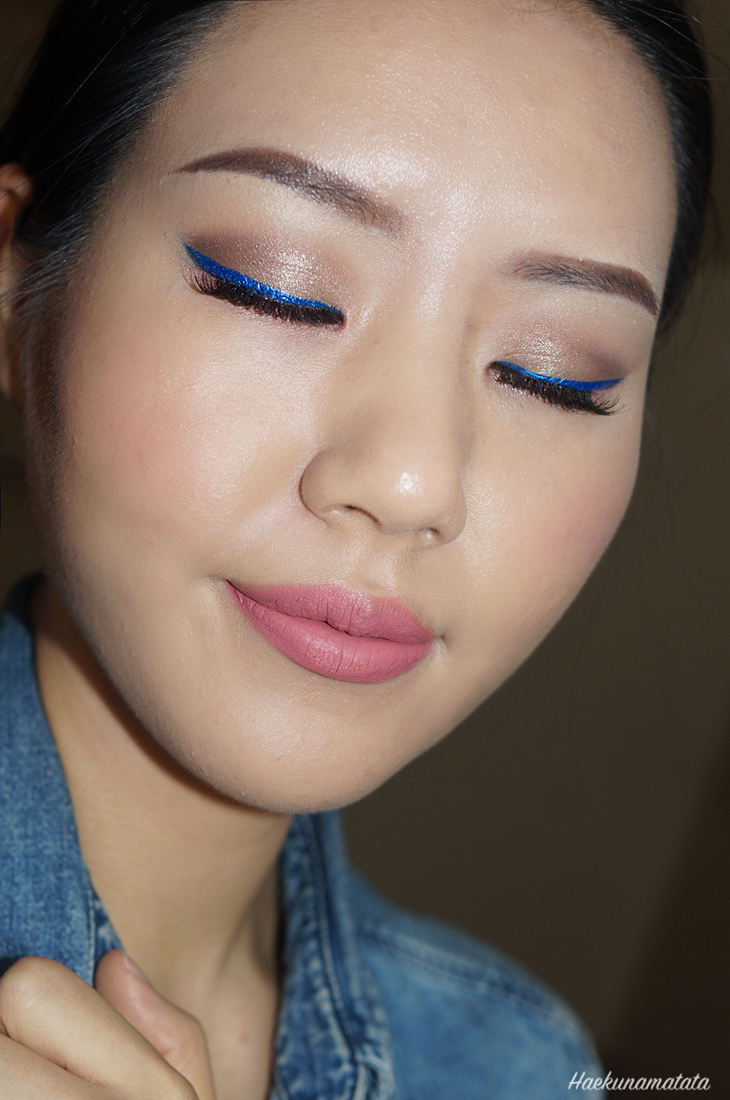 Blue Eyeliner Makeup: NYX Extreme Blue & ColourPop Solow