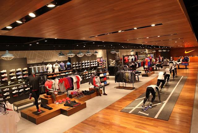 Lojas da Nike em Miami