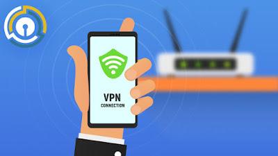Secure VPN usage method