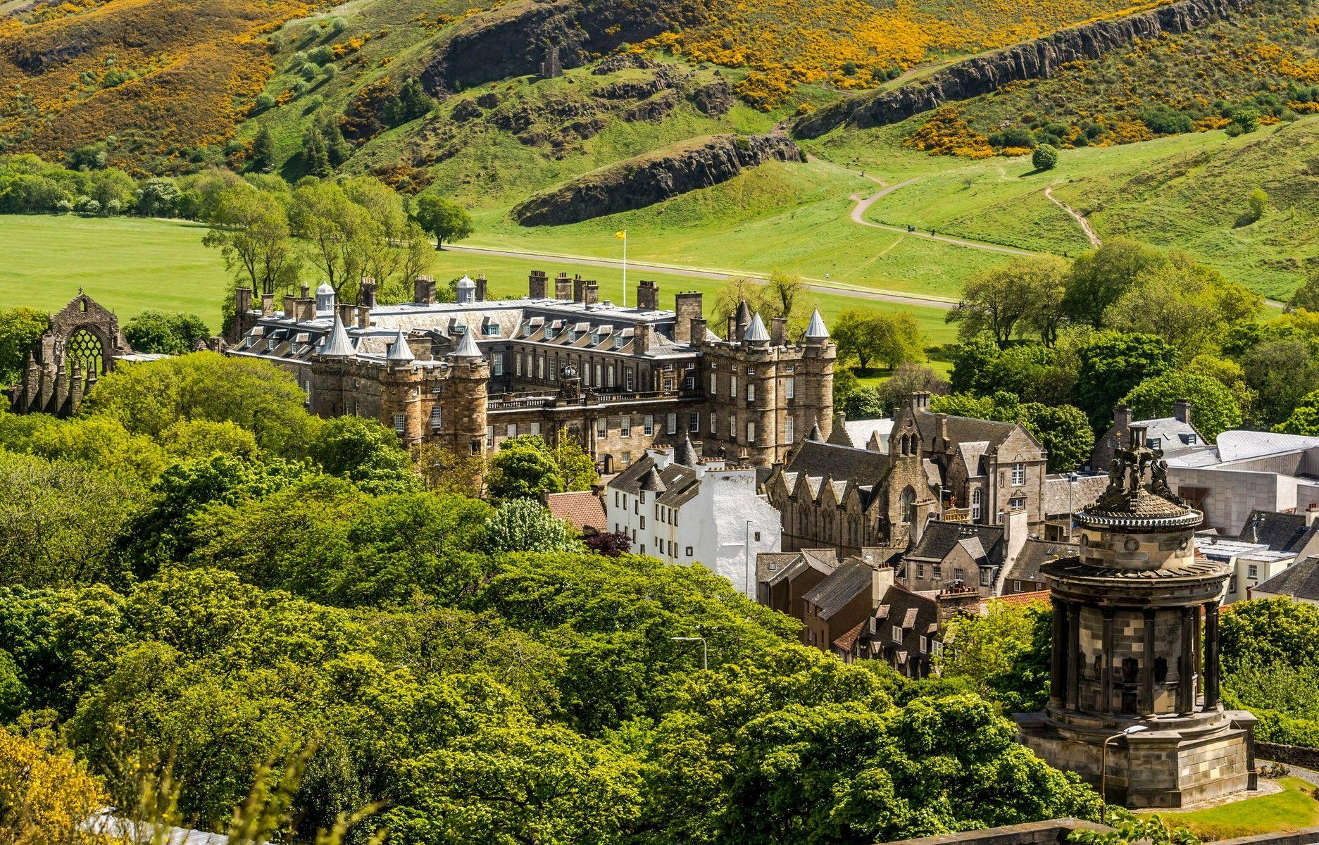 Holyrood Palace Images