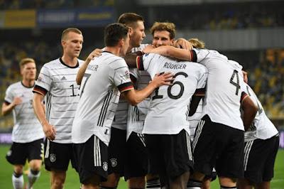 ملخص واهداف مباراة المانيا واوكرانيا (2-1) دوري الامم الاوروبية