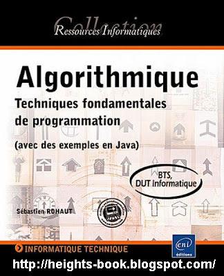 Télécharger Livre Gratuit Algorithmique - Techniques fondamentales de programmation pdf