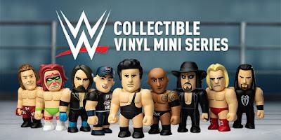 WWE Mini Figure Blind Box Series by Kidrobot
