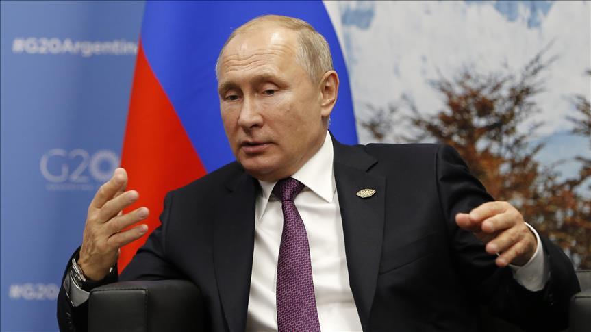 بوتين: التعاون بين روسيا وتركيا يحقق تقدما هاما