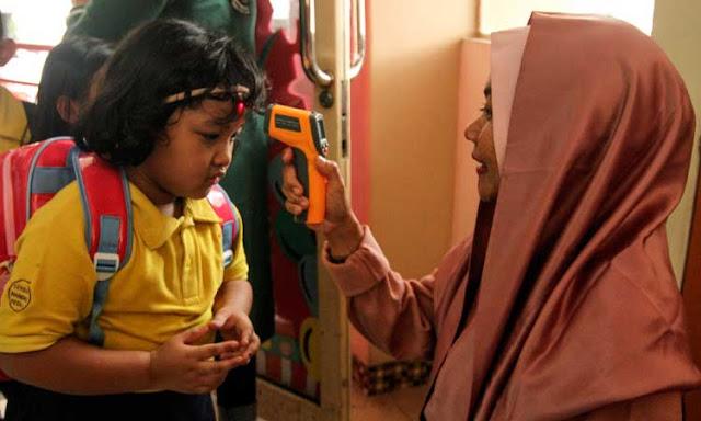 Ayah - Bunda Sekolah Yang Akan Dibuka Hanya di Zona Hijau Saja Ini Daftarnya dan Jadwalnya