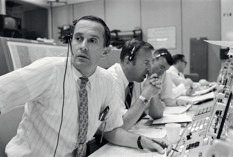 Центр управления полётами миссии «Аполлон»