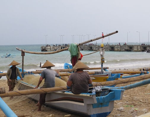 Kedonganan fish marketplace is i of the largest markets of fish in addition to seafood BaliBeaches: Kedonganan Fish Market - Jimbaran Bay fish marketplace Bali