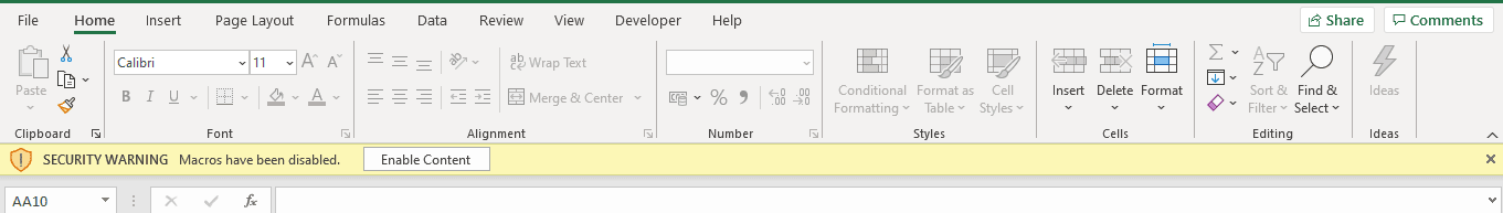 Enable developer tab in excel | Excel Macro, VBA tutorial for beginners | Tutorial 2