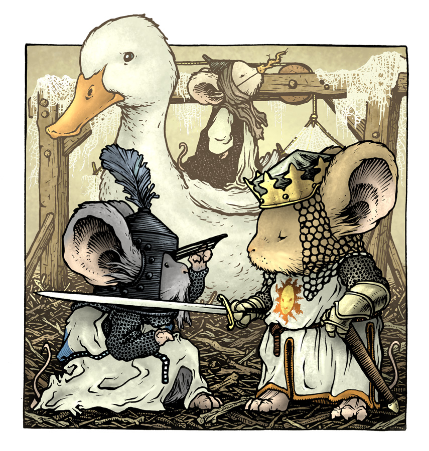 Monty Python The Royal Philharmonic Orchestra Goes To The Bathroom: David Petersen's Blog: Monty Python Holy Grail With Mice