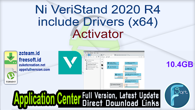 Ni VeriStand 2020 R4 include Drivers (x64) Activator_ ZcTeam.id