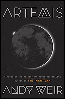 Artemis by Andy Weir book cover and review