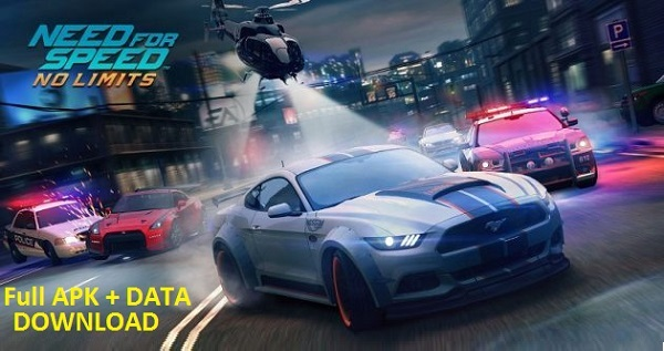 Download Need for Speed ​​No Limits Android Mod Apk Data Mobile Game