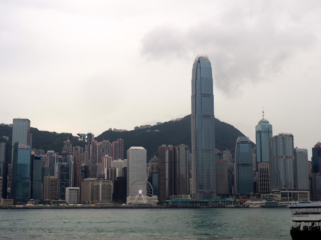 View of Hong Kong skyline from TST, Kowloon