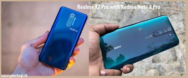 Kelebihan dan Kekurangan Realme X2 Pro dengan Xiaomi Redme Note 8 Pro