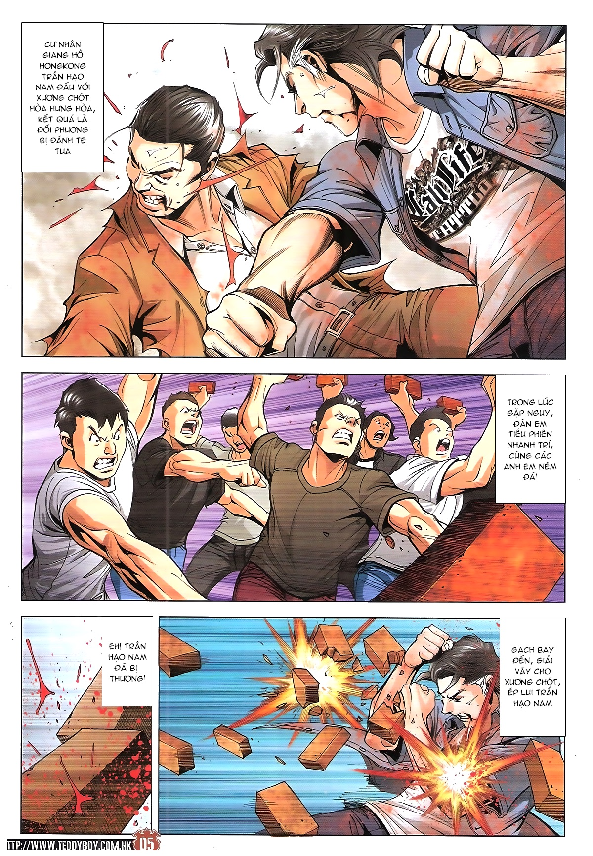 Người Trong Giang Hồ chapter 1925: nghịch tứ bát tứ trang 3